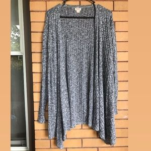 Lightweight Grey Cardigan